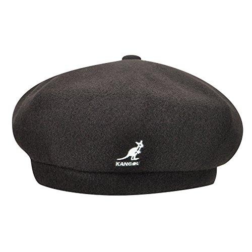 Kangol Men's Wool Jax Beret, Black, X-Large