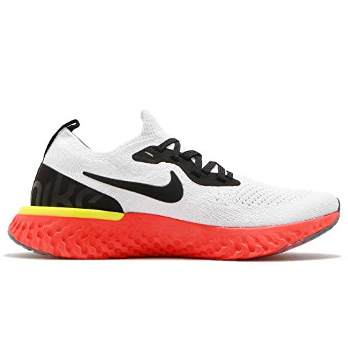 gs Uomo Scarpe React pure Running true Nike 103 White Epic black Platinum Flyknit Multicolore t6wf41