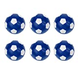 Baoblaze 6 Pieces/Pack Foosball Ball Replacement Mini Soccer Balls