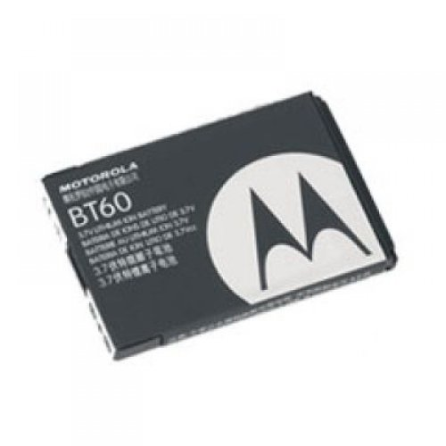 Motorola BT60 Cellular Phone Battery - Proprietary - Lithium Ion (Li-Ion) - 1100mAh (Q9m Motorola Battery Standard)