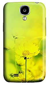 Samsung S4 Case Autumn chrysanthemum Desktop 3D Custom Samsung S4 Case Cover