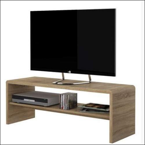 Mesa de café, de Furniture To Go «4 You», Unidad de TV, en Madera de Roble: Amazon.es: Hogar