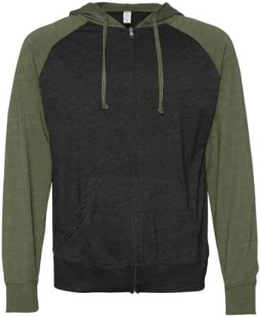Independent Trading Co Men's Trading Co. Lghtwght Raglan Hood
