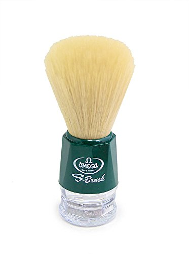 Omega S-Brush Model S10018 Green 100% Synthetic