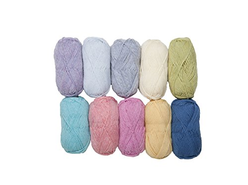 Knit Picks Wool of The Andes Worsted Weight Yarn (10 Balls - ()