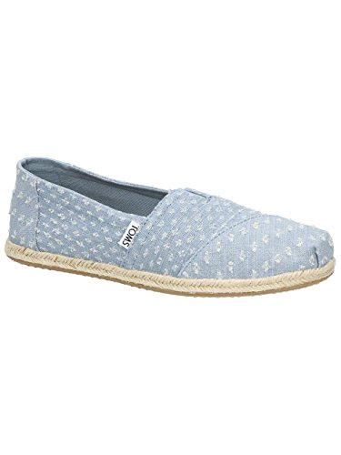 Toms Womens Classic Casual Shoe Seaglss Trn Dnm Rope