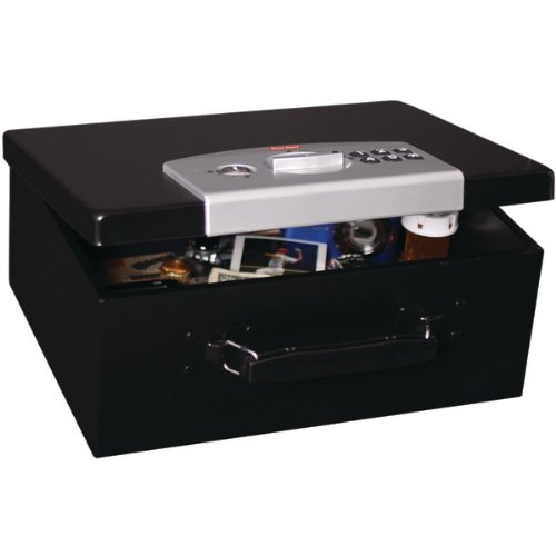 First Alert 3035DF Electronic Digital Lock Steel Box