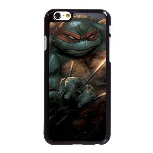 C6L22 Ninja Turtles U4E6YW coque iPhone 6 Plus de 5,5 pouces cas de couverture de téléphone portable coque noire DH1PHX9ZC