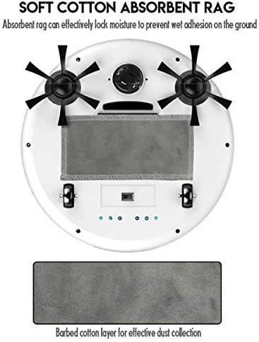 CHUTD Robot Intelligent Rechargeable, stérilisateur UV 4 en 1, aspirateur-balayeuse à Forte Aspiration, Corps Mince et léger, Anti-Chute Intelligent, E (Couleur: A) B