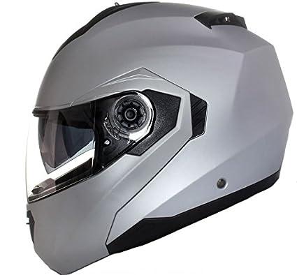 Qtech Casque Modulable Pare Soleil Interne Moto Scooter Flourescent Jaune XS 53-54cm