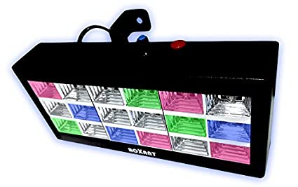 Roxant Party Pulse Multi Color LED Strobe Light   With Sound Active Mode