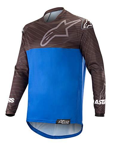 (Venture R Off-Road Motocross Jersey (Large, Black Blue))