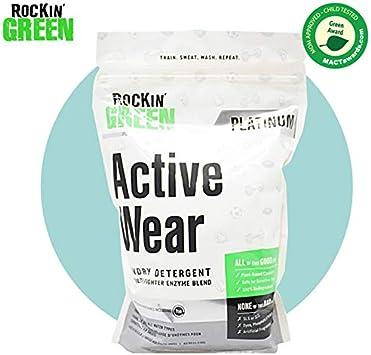 Rockin Green – Active Wear (detergente para ropa deportiva y de ...