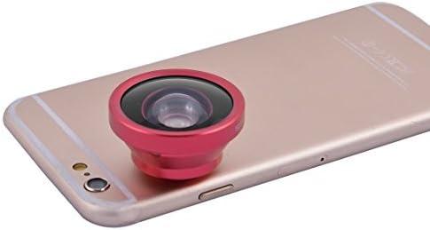 DealMux Smartphone Clip HD Gran Angular 0,4X Selfie CAM Lente roja para el teléfono móvil: Amazon.es: Electrónica