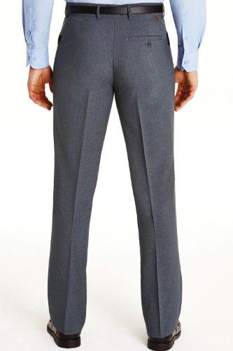 Hommes Farah Podarge Poche Formelle Pantalon Smart