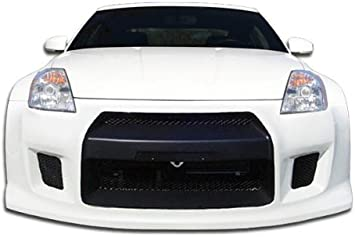 Compatible With 350Z 2003-2008 Brightt Duraflex ED-CPG-196 R35 Front Bumper Cover 1 Piece Body Kit