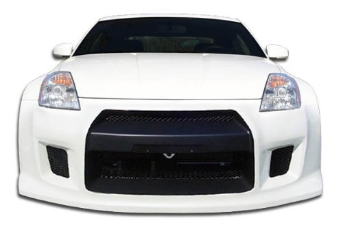 Duraflex Replacement for 2003-2008 Nissan 350Z Z33 R35 Front Bumper Cover - 1 Piece