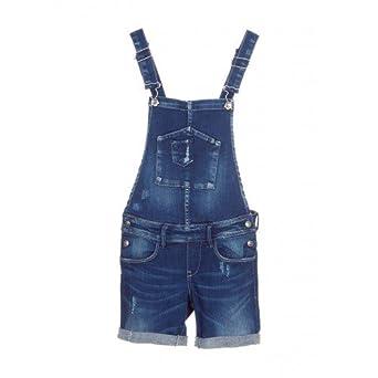 dernière collection mieux choisir rechercher le meilleur Salopette short TIFFOSI en jeans pour ados filles 12ans ...