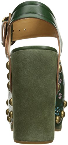 Dawn Sandal Dark Women's Wedge Green Marc Jacobs wRqHE64