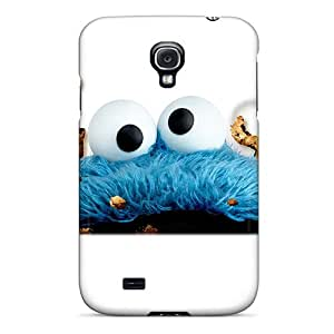 Hot HQigT6849lwNxe Case Cover Protector For Galaxy S4- Cookie Monster