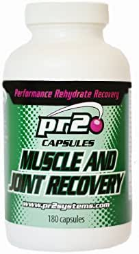 pr2 Muscle and Joint Recovery Capsules - Glucosamine, MSM, BCAA's