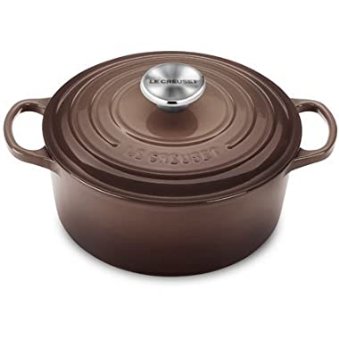 Le Creuset Signature Round French Oven, 3.5 quart, Truffle