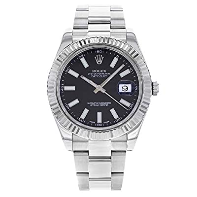 Rolex Datejust II Automatic-self-Wind Male Watch 116334 (Certified Pre-Owned) by Rolex