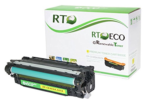 Renewable Toner 507A CE402A Compatible Yellow Toner Cartridge for HP LaserJet Enterprise 500 M551 MFP M575 Printers