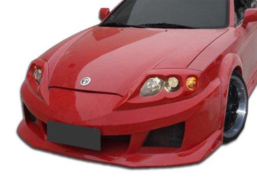 Duraflex Replacement for 2003-2006 Hyundai Tiburon Raine Wide Body Front Bumper Cover - 1 Piece