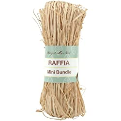 Natural Raffia, Mini Bundle, 1.75-Ounce
