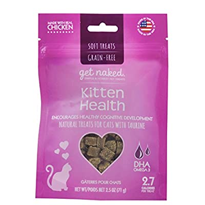 Cat Food Get Naked 1 Pouch Kitten Health Soft Treats, 2.5 oz [tag]