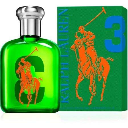 [Râlph Lâuren] The Big Pony Collection #3 Eau De Toilette For Men 2.5 Oz. (Ralph Lauren Romance Perfume Collection For Women)