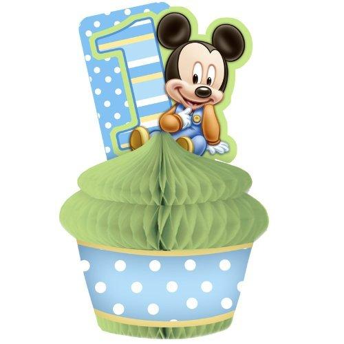 Mickey's 1st Birthday Centerpiece -