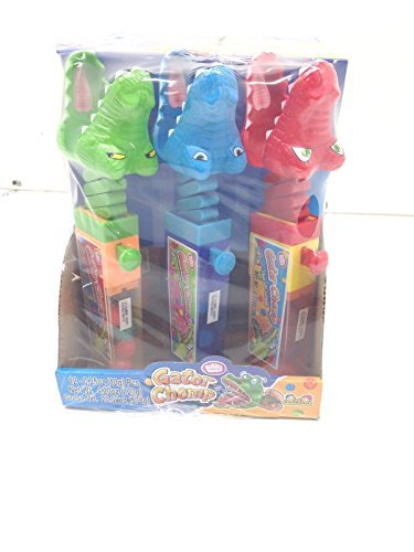 GATOR CHOMP FILLED WITH GUMBALLS 12 Count