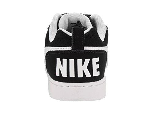 Homme Blanc Court Borough Baskets Nike Noir Low wxIzUnYf