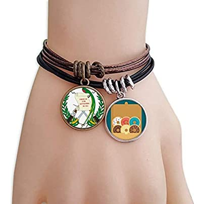 SeeParts Guatemala National Emblem Country Bracelet Rope Doughnut Wristband Estimated Price £9.99 -