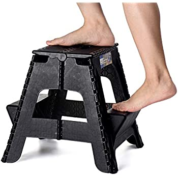 Amazon Com Acko 2 In 1 Dual Purpose Folding Step Stool