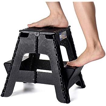 Amazon Com Acko 2 In 1 Dual Purpose Folding Step Stool