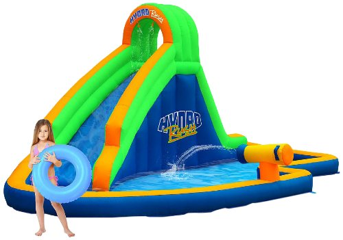 Blast Zone Hydro Rush Inflatable Water Park (Kids Blow Up Bounce)