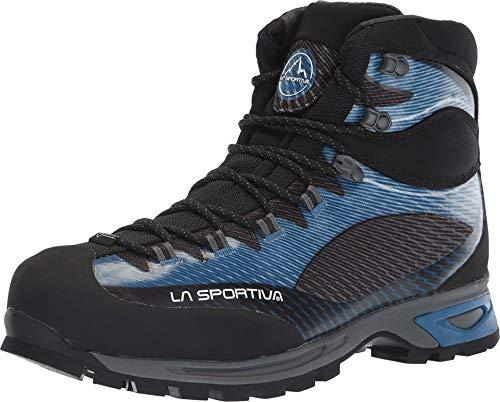 La Sportiva Trango TRK GTX Hiking Shoe, Blue/Carbon, 43