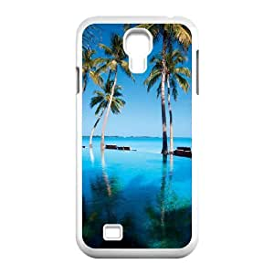 Beautiful Maldives Unique Design Cover Case with Hard Shell Protection for SamSung Galaxy S4 I9500 Case lxa#469866