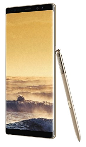 (Samsung Galaxy Note8 N950F 64GB 4G LTE Unlocked by Samsung for All GSM Carriers Worldwide - Maple Gold)