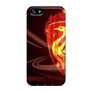 Hot Design Premium JIZ2677lfJx Case Cover Iphone 5/5s Protection Case(liverpool)