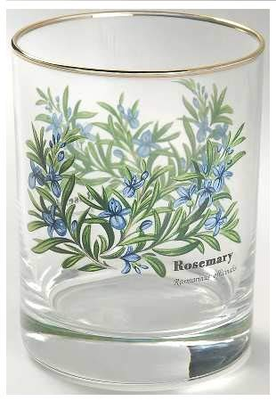 Royal Worcester Herbs Set of Four Double Old Fashioned ()