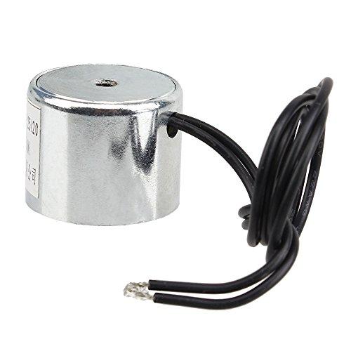 Metal 11LB 5kg Electric Lifting Magnet Holding Electromagnet Solenoid DC 6V 50N