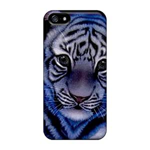 Premium Protection Beautiful Tiger Case Cover For Iphone 5/5s- Retail Packaging wangjiang maoyi