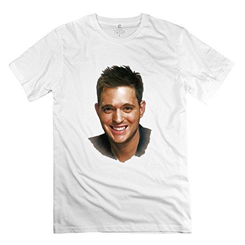 HUIMIN Men's Michael Buble T-shirt XL