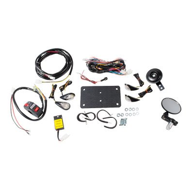 Tusk ATV Horn & Signal Kit with Flush Mount Signals - For ATV's With Existing Brake Lights ()
