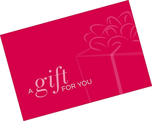Gift Card Presenter (A Gift for You - Simple Red) 500 Pack