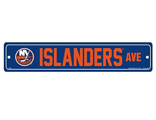 WinCraft NHL New York Islanders Full Color Street Sign, 3.75 x 19-Inches